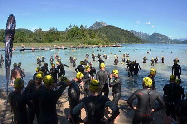 Angst vor dem Freiwasserschwimmen, Triathlon, Seedurchquerung